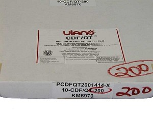 "CDF-QT-200 14""x14"" 200 microns (10 sheets/box)"